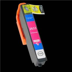 Alpa-Cartridge Compatible Epson T2633 26XL Hi Yield Magenta Ink Cartridge T26334010 also for T26134010