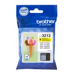 Brother LC3213Y Inkjet Cartridge Page Life 400pp Yellow Ref LC3213Y