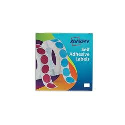 Avery 24-415 Label Dispenser 12x18mm White Ref 24-415 - 2000 Labels
