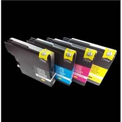 Alpa-Cartridge Compatible Brother LC1100 Multipack 4 Ink Cartridges