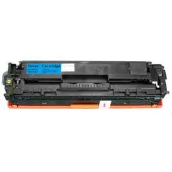 Alpa-Cartridge Compatible HP Laserjet 1215 Cyan Toner CB541A also for Canon EP716C