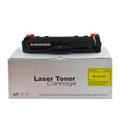 Alpa-Cartridge Compatible HP Yellow Toner CF412A also for HP 412A
