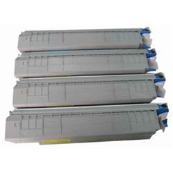 ALPA-CArtridge Remanufactured OKI C8600 Yellow Toner 43487709