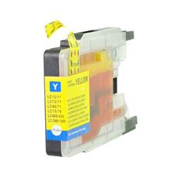 Alpa-Cartridge Compatible Brother Yellow Ink Cartridge LC1240Y also for LC1280Y LC1220Y