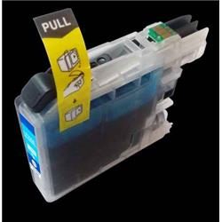 Alpa-Cartridge Compatible Brother Hi Yield Cyan Ink Cartridge LC225XLC