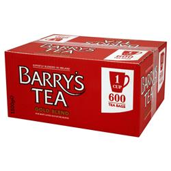 Barrys Gold Label 600's 1 Cup Tea Bags