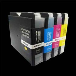Alpa-Cartridge Compatible Brother LC1000 Multipack 4 Ink Cartridges