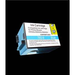 ALPA-CArtridge Comp Pitney Bowes DM300C Blue Ink 765-9RN