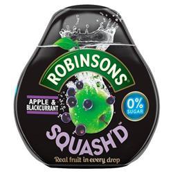 Robinsons Squash'D No Added Sugar 66ml Apple & Blackcurrant Ref 0402041 [Pack 6]