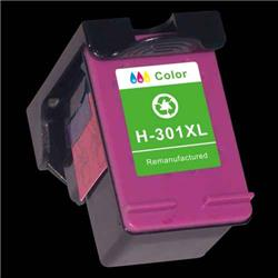 Alpa-Cartridge Remanufactured HP No.301XL Hi Yield Colour Ink Cartridge CH564EE