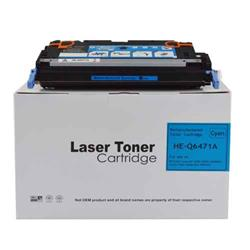 Alpa-Cartridge Remanufactured HP Laserjet 3600 Cyan Toner Q6471A also for Canon EP711C