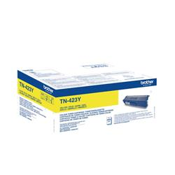 Brother TN423Y Toner Cartridge High Yield Page Life 4000pp Yellow Ref TN423Y
