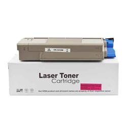 ALPA-CArtridge Remanufactured OKI C610 Magenta Toner 44315306