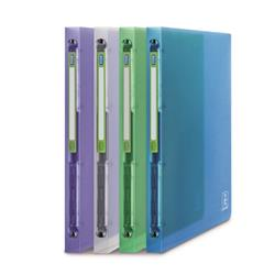 Elba 2nd Life 4 Ring Binder 20mm Spine Recycled Polypropylene A4 Assorted Ref 400065868 [Pack 4]