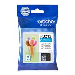 Brother LC3213C Inkjet Cartridge Page Life 400pp Cyan Ref LC3213C