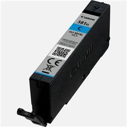 Canon CLI-581XL Inkjet Cartridge High Capacity Page Life 515pp Cyan Ref 2049C001