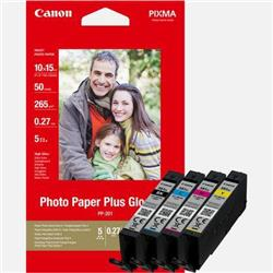 Canon CLI-581XL Inkjet Cartridge Page Life 515pp x 3 B/C/M/Y 312pp Photo Value Pack Ref 2052C004 [Pack 4]
