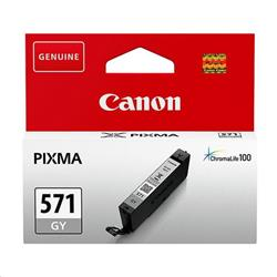 Canon CLI-571 Inkjet Cartridge Page Life 125pp Capacity 7ml Grey Ref 0389C001