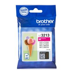 Brother LC3213M Inkjet Cartridge Page Life 400pp Magenta Ref LC3213M