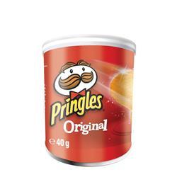Pringles PopnGo Original Crisps Unique Shape Well-seasoned Non-greasy Ref 7000271000 [Pack 12]