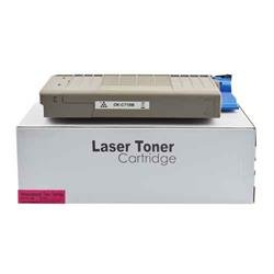 ALPA-CArtridge Remanufactured OKI C710 Magenta Toner 43866106 44318606