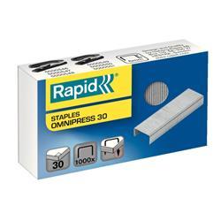 Rapid Omnipress 30 Staples 6mm Ref 5000559 [Box of 1000]