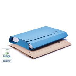 Elba Probate Wallets Full Flap Heavyweight Manilla 285gsm 65mm Foolscap Blue Ref 100090048 [Pack 25]