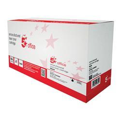 5 Star Office Remanufactured Laser Toner Cartridge Page Life 4000pp Black [Brother TN325BK Alternative]