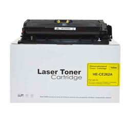 Alpa-Cartridge Remanufactured HP Laserjet CP4025 Yellow Toner CE262A