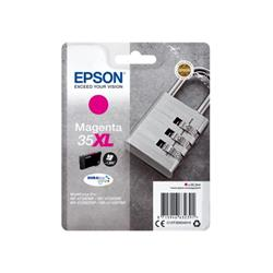 Epson Padlock 35XL T3593 (Yield 1900 pages) DURABrite Ultra Magenta 20.3ml Ink Cartridge Ref C13T35934010