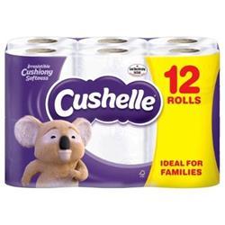 Cushelle Toilet Rolls 2-Ply White Ref 1102089