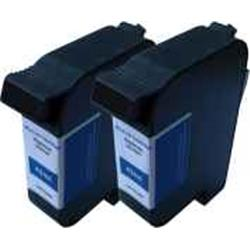 ALPA-CArtridge Comp Francotyp Postalia Ultimail Ink Twin Pack Blue 58.0033.3137.00