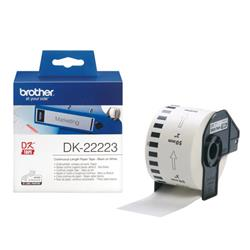Brother Label Continuous Paper Tape 50mm x 30m White Ref DK22222