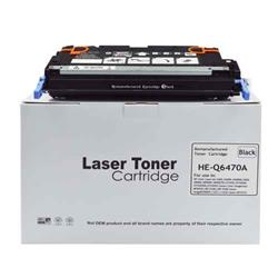 Alpa-Cartridge Remanufactured HP Laserjet 3600 Black Toner Q6470A also for Canon EP711BK