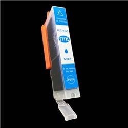 Alpa-Cartridge Compatible Canon Hi Yield Cyan Ink Cartridge CLI-571XLC