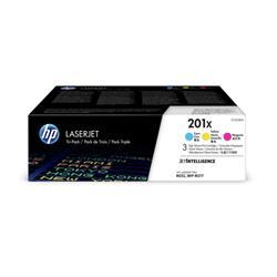 HP 201XM Laser Toner Cartridges HY Page Life 2300x3pp C/M/Y Ref CF253XM [Pack 3] - £35 Cashback