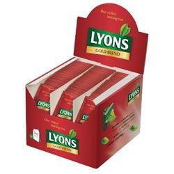 Lyons Gold Blend 200 Wrapped Tea Bags