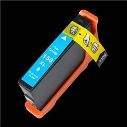 ALPA-CArtridge Comp Lexmark 150XL Hi Yield Cyan Ink Cartridge 14N1615E
