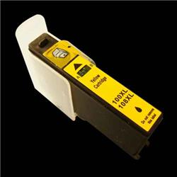 ALPA-CArtridge Comp Lexmark 100XL Yellow Ink Cartridge 014N1071E
