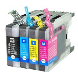 Alpa-Cartridge Compatible Brother LC1240 Multipack 4 Ink Cartridges