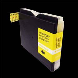 Alpa-Cartridge Compatible Brother MFC240 Yellow Ink Cartridge LC1000Y also for LC970Y