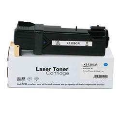 ALPA-CArtridge Remanufactured Xerox Phaser 6128 Cyan Toner 106R01452