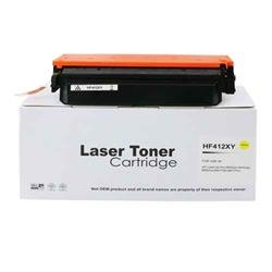 Alpa-Cartridge Compatible HP Hi Yield Yellow Toner CF412X also for HP 412X