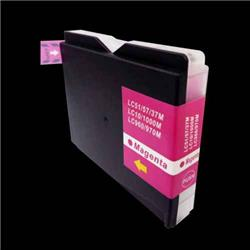 Alpa-Cartridge Compatible Brother MFC240 Magenta Ink Cartridge LC1000M also for LC970m