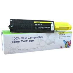Alpa-Cartridge Remanufactured Epson C1100 Yellow Toner S050187