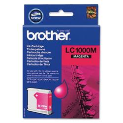 Brother LC1000M Magenta Inkjet Cartridge Ref LC-1000M