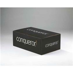 Conqueror Wove Cream DL Envelope Fsc4 110x220mm Sup/seal Bnd 50 Window Ref 01531 [Pack 500]