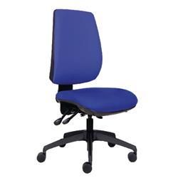 Jemini High Back Task Blue Chair Ref KF74956