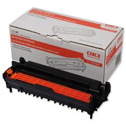 OKI Laser Drum Unit Page Life 25000pp Black Ref 43979002