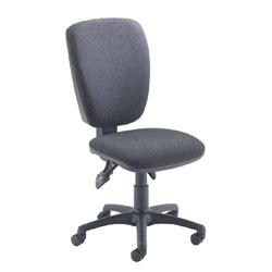 Arista Charcoal High Back Operator Chair Ref 09OP07